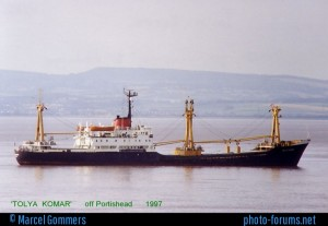 Photo of Tolya Komar, taken Marcel Gommers off Portishead in 1997 (Marcel Gommers (c) 1997)