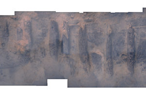 Photomosaic of uncovered portion of Warwick. REF4430