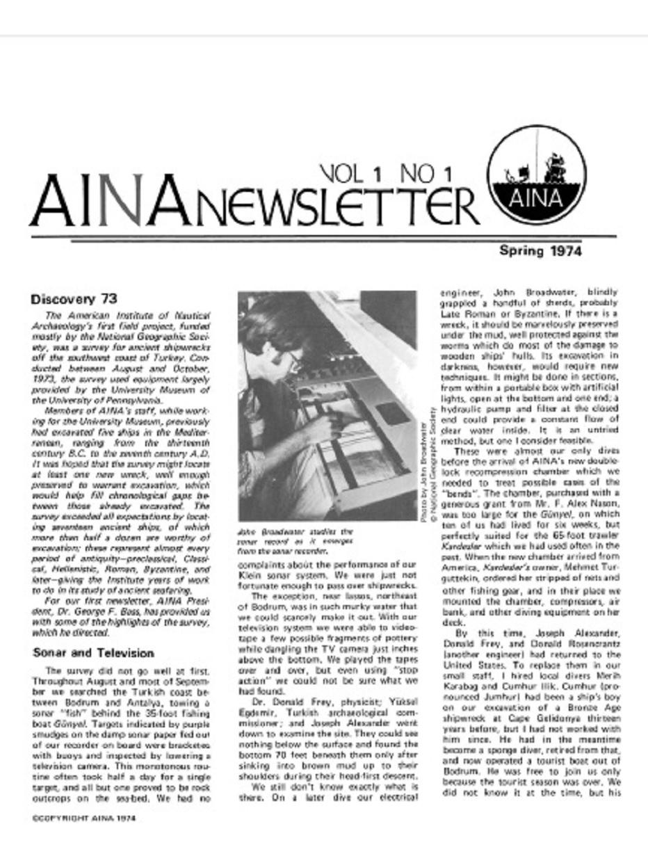 AINA Quarterly 2.3 Fall 1975