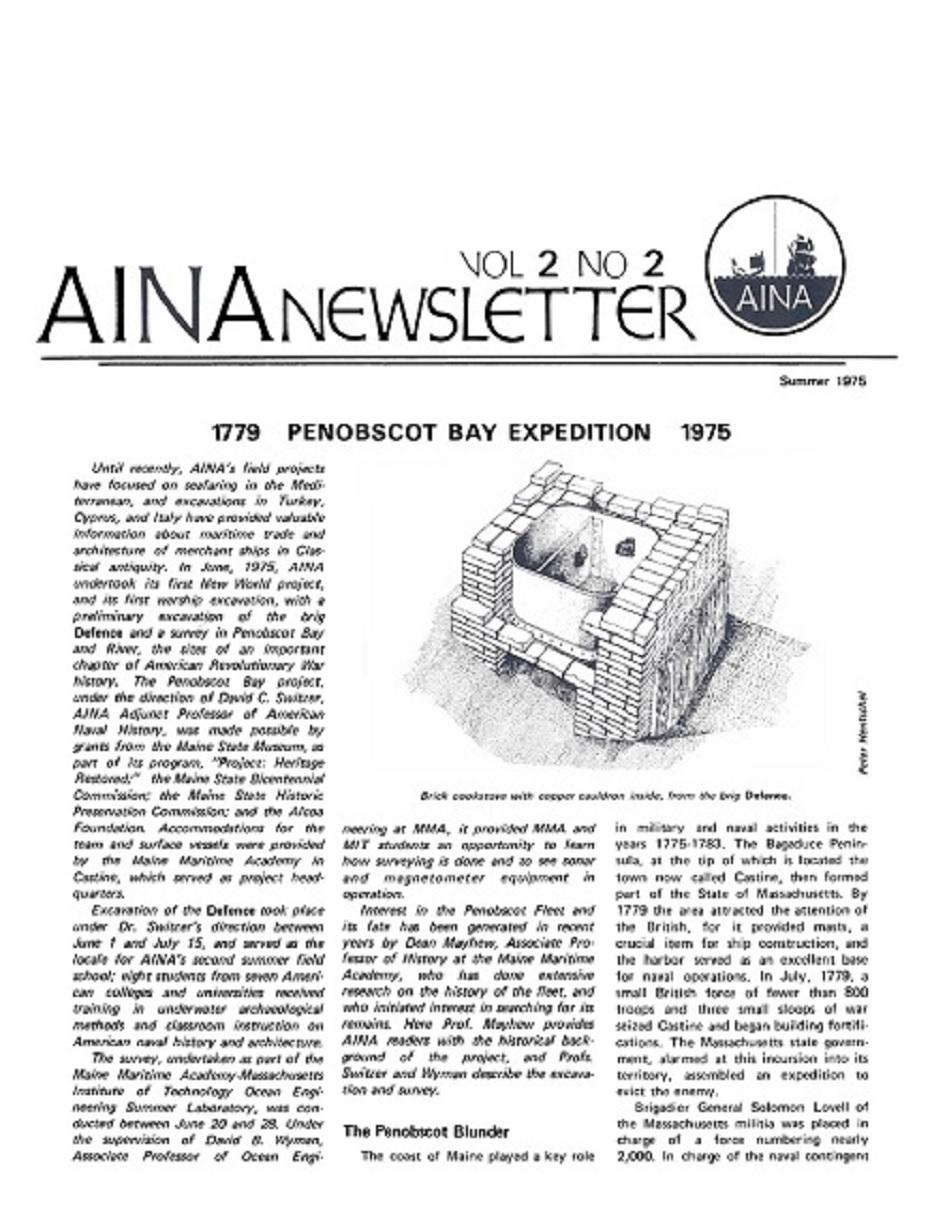 AINA Quarterly 2.2 Summer 1975