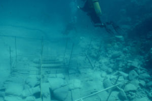 Excavations and recording of the wreck (photo courtesy of the BMM). REF4495