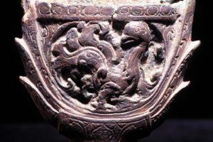 Close up of sword hilt (Photo: INA). REF4390