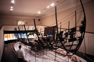 Serçe Limanı exhibit in the Bodrum Museum of Underwater Archaeology. (Photo: INA, Slide # GW-3344). REF4385