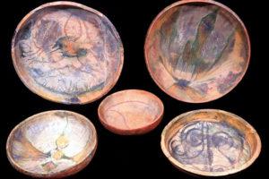 Islamic glazed Sgraffito ware and splash ware. (Photo: INA, Slide# GW-2041). REF4375