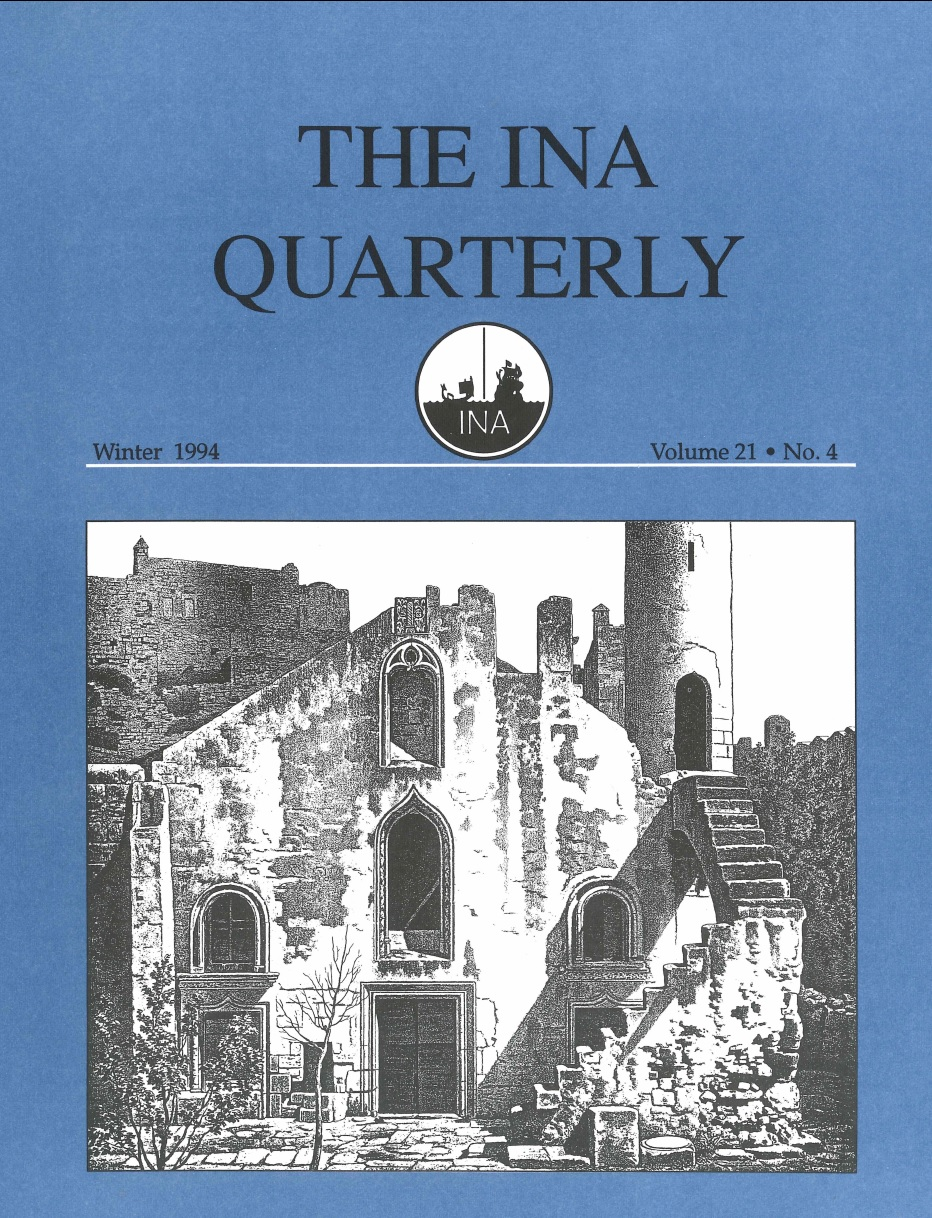 INA Quarterly 21.4 Winter 1994
