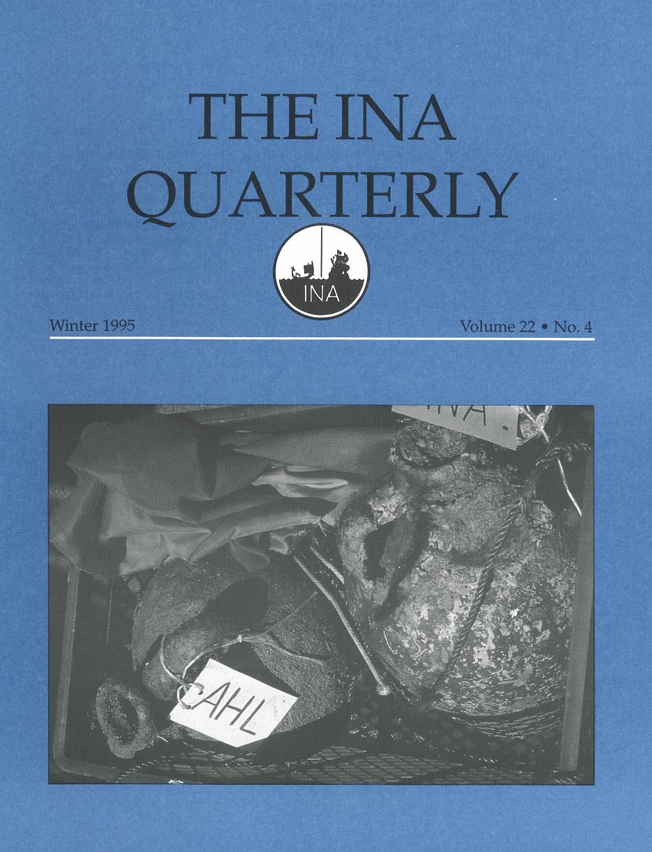 INA Quarterly 22.4 Winter 1995