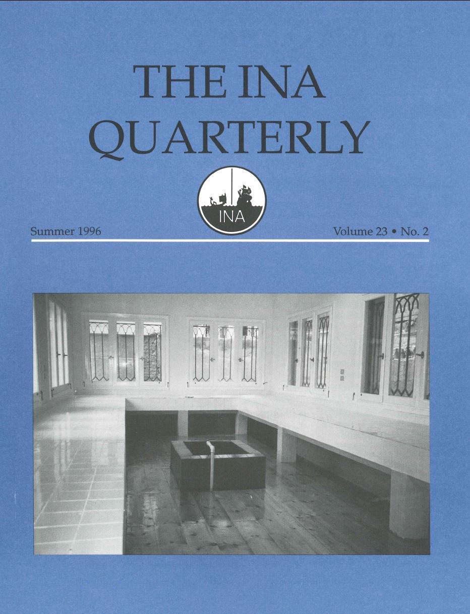 INA Quarterly 23.2 Summer 1996
