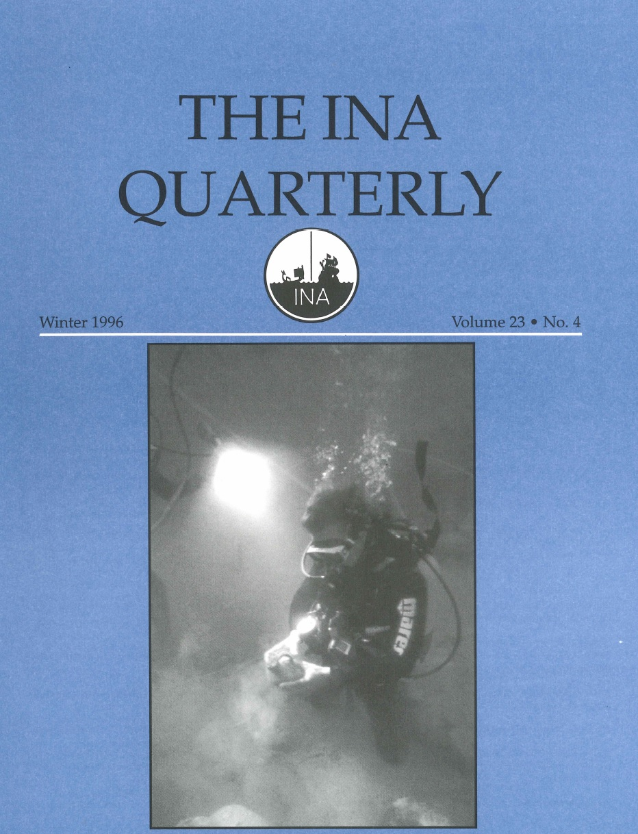 INA Quarterly 23.4 Winter 1996