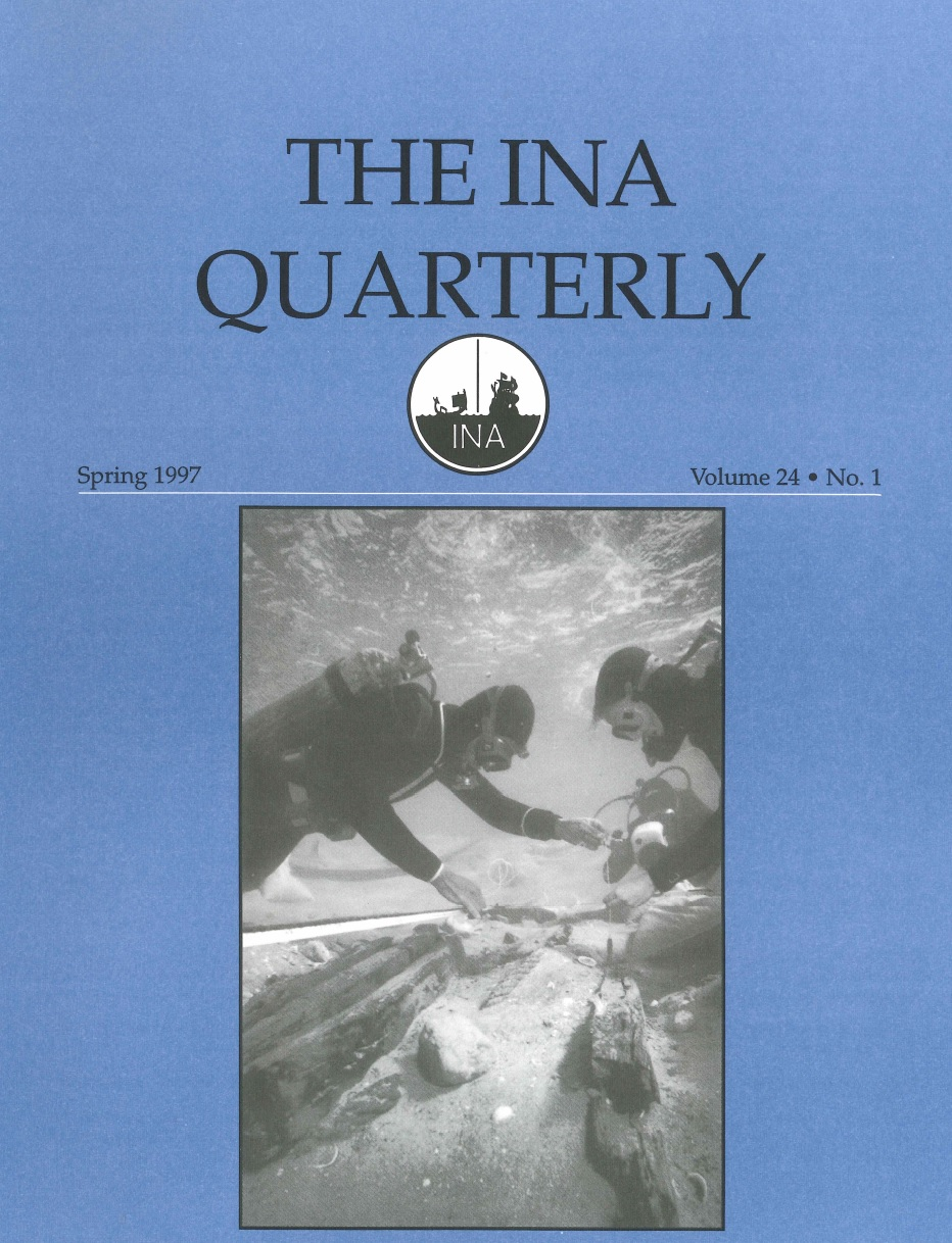 INA Quarterly 24.1 Spring 1997