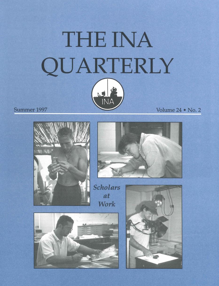 INA Quarterly 24.2 Summer 1997