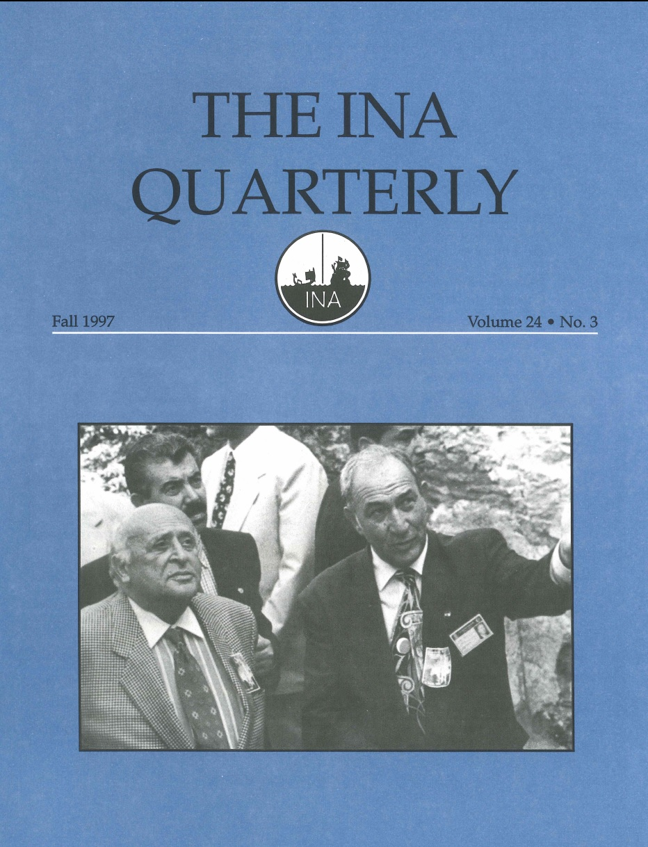 INA Quarterly 24.3 Fall 1997