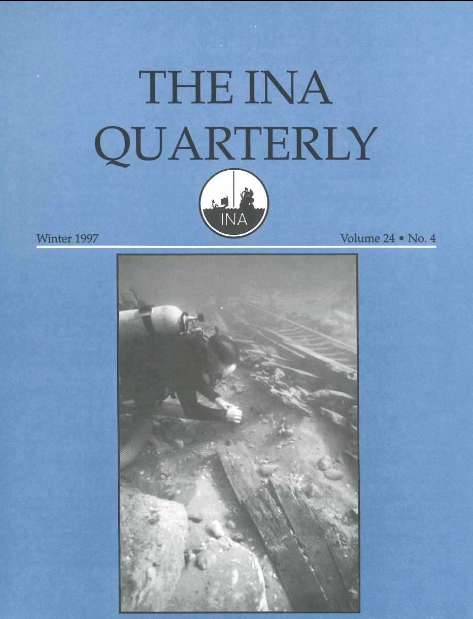 INA Quarterly 24.4 Winter 1997