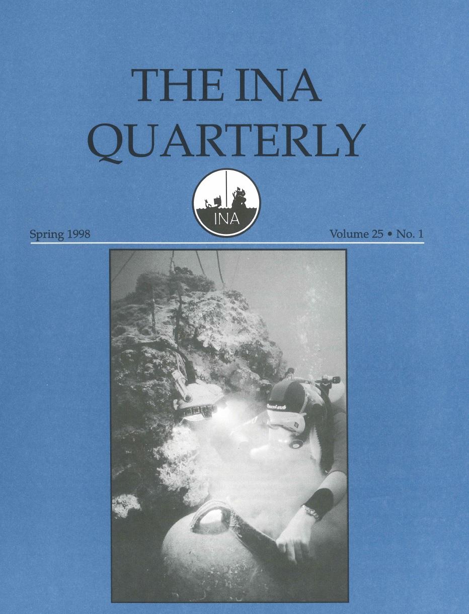 INA Quarterly 25.1 Spring 1998