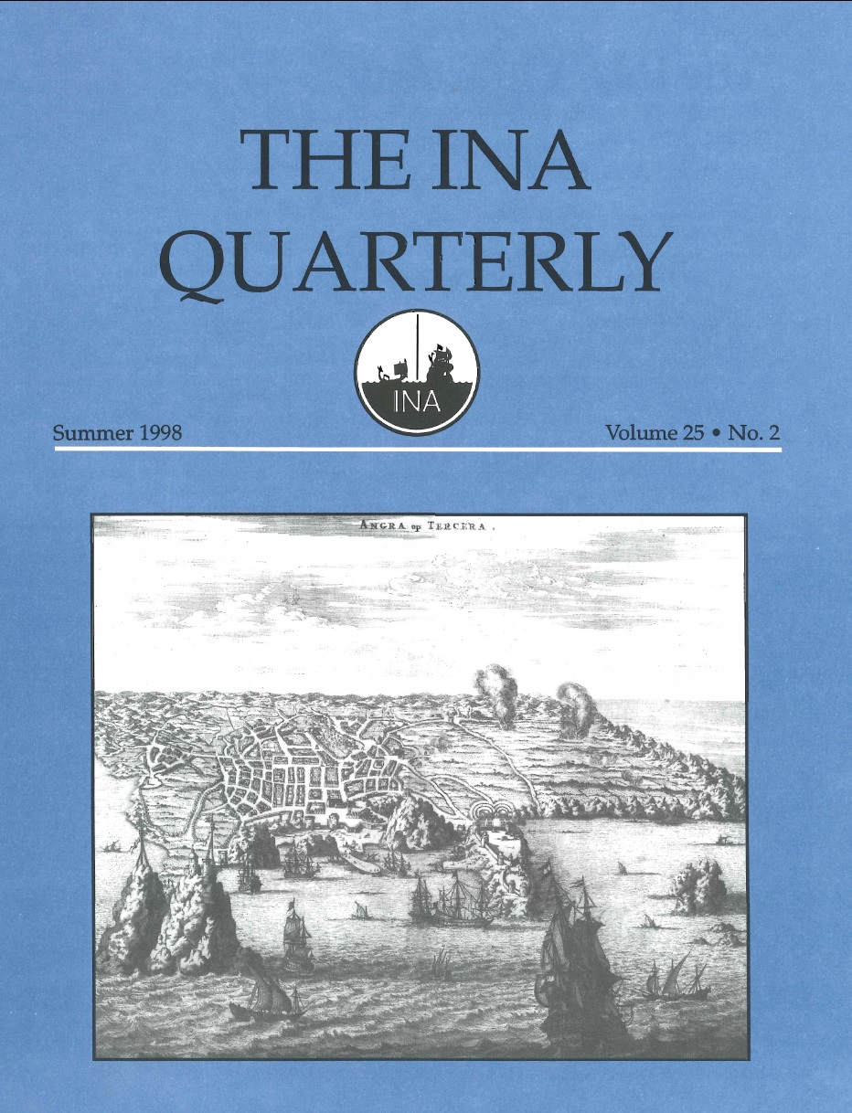 INA Quarterly 25.2 Summer 1998