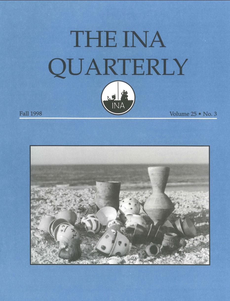INA Quarterly 25.3 Fall 1998