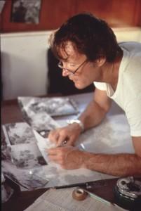 Jacke Kelley working on Uluburun plan