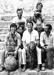 Jack Kelley and Don Frey with Turkish colleagues