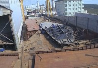 INA Begins Construction on New Research Vessel: <em>Virazon II</em>