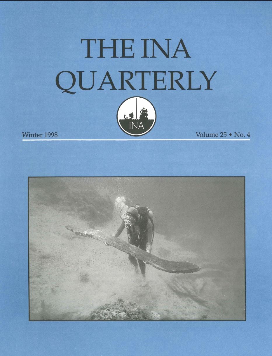 INA Quarterly 25.4 Winter 1998