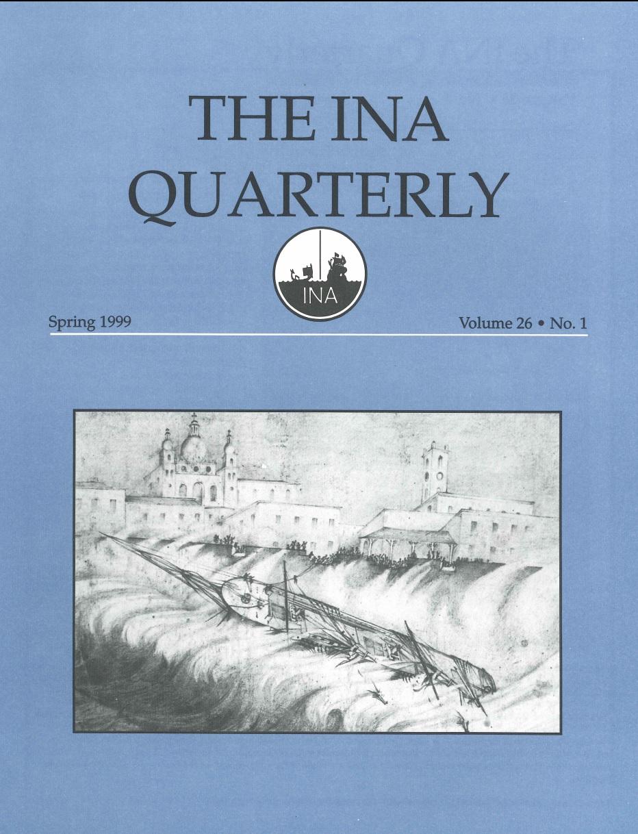 INA Quarterly 26.1 Spring 1999