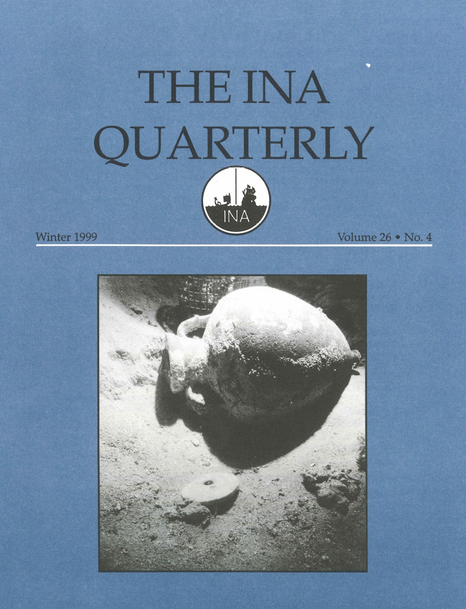 INA Quarterly 26.4 Winter 1999