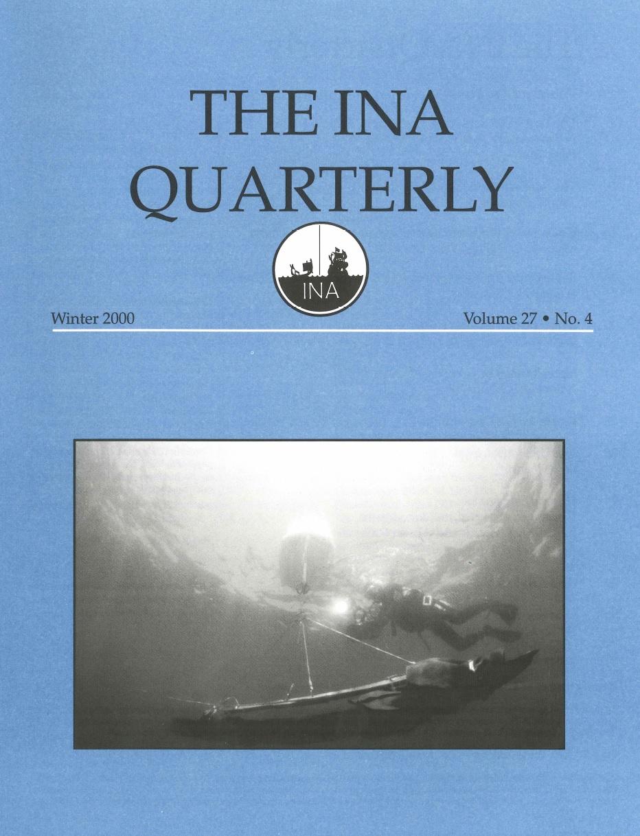 INA Quarterly 27.4 Winter 2000