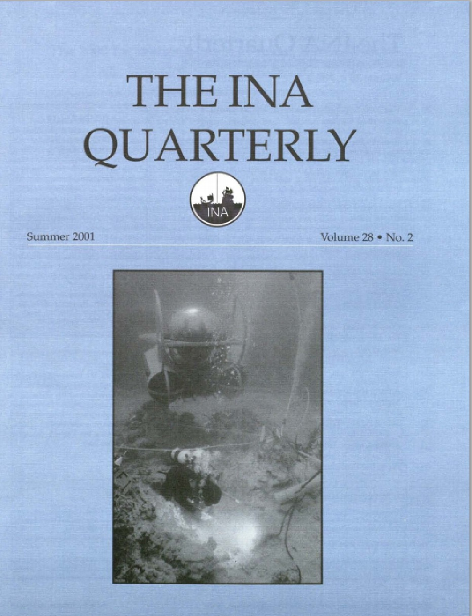 INA Quarterly 28.2 Summer 2001