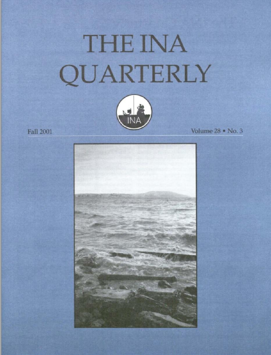 INA Quarterly 28.3 Fall 2001