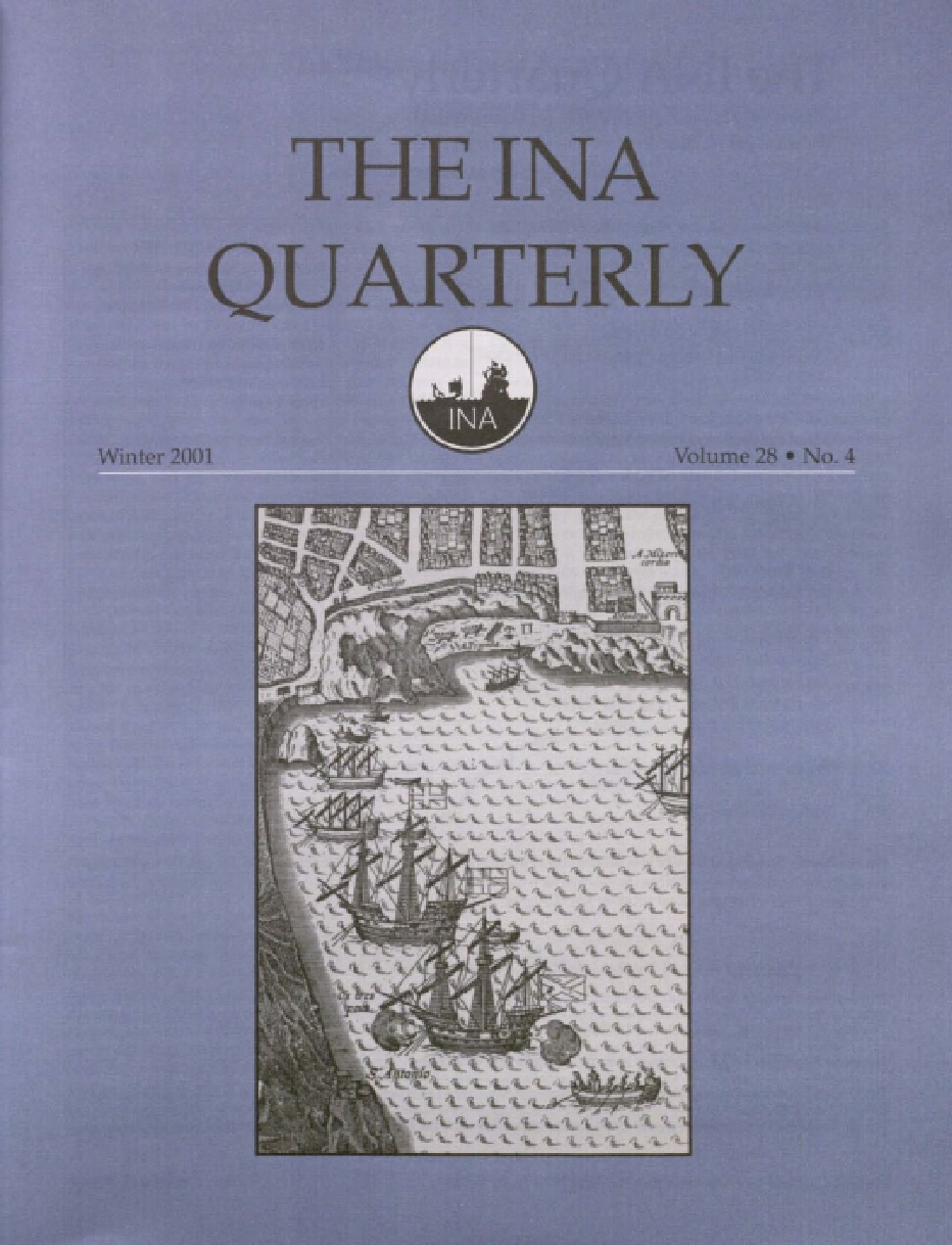 INA Quarterly 28.4 Winter 2001