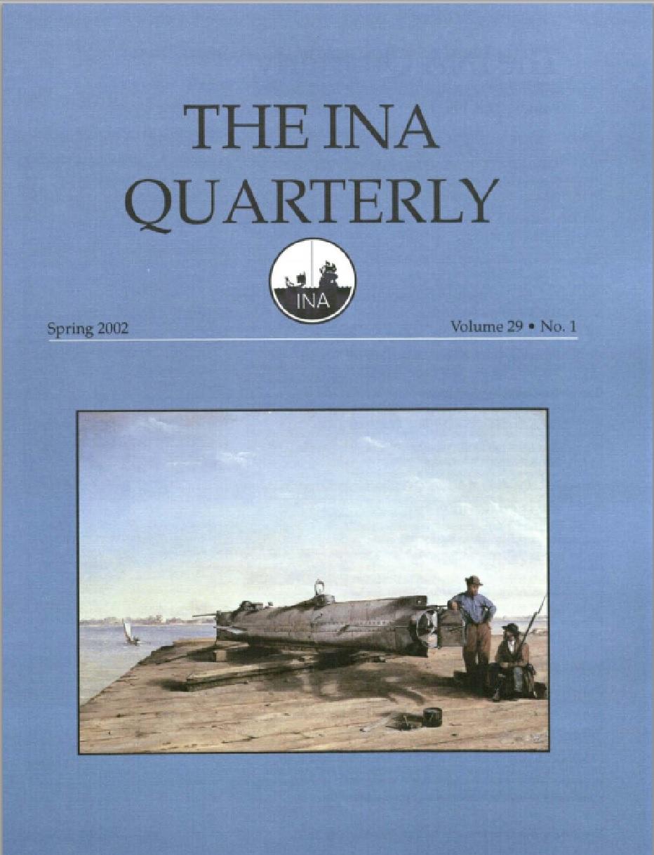 INA Quarterly 29.1 Spring 2002