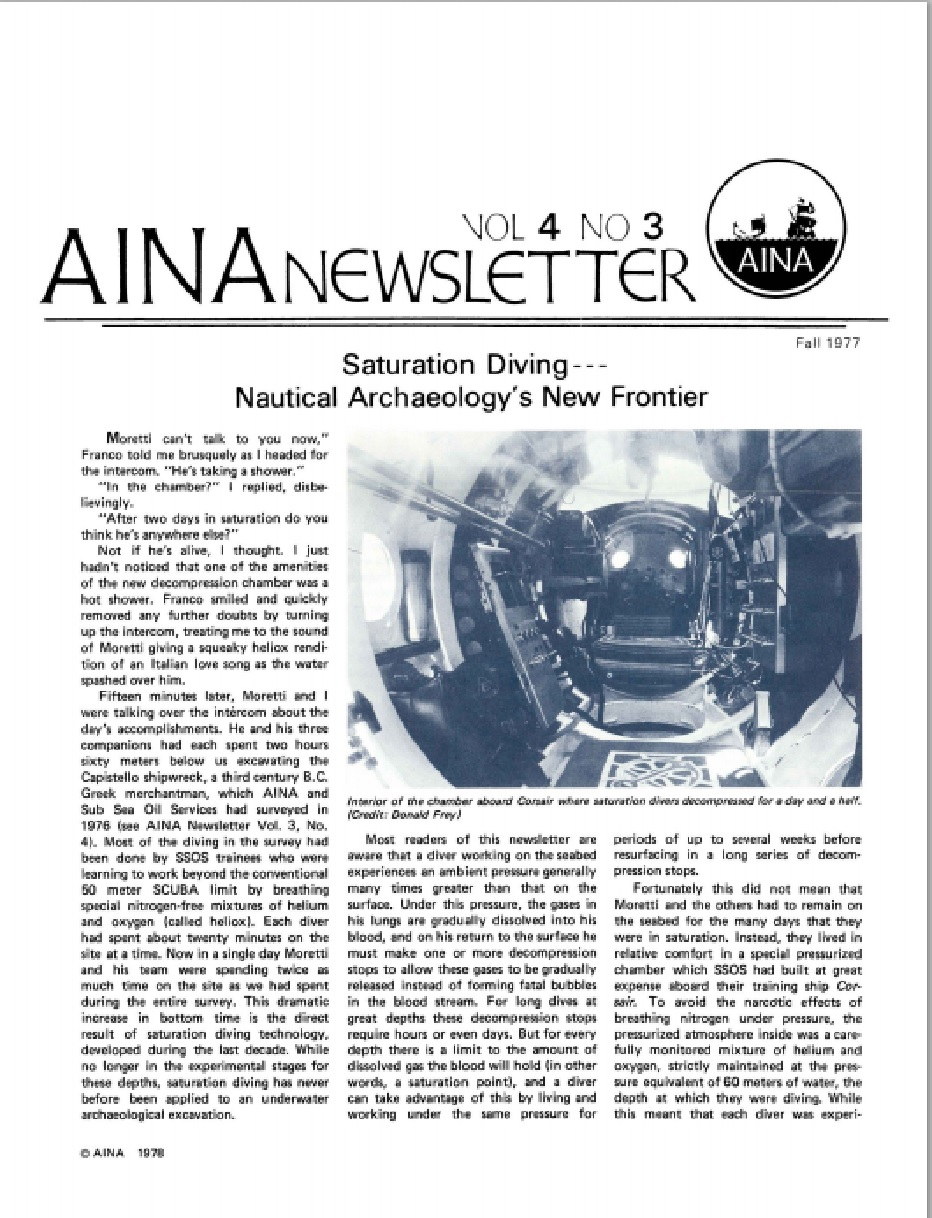 AINA Quarterly 4.3 Fall 1977