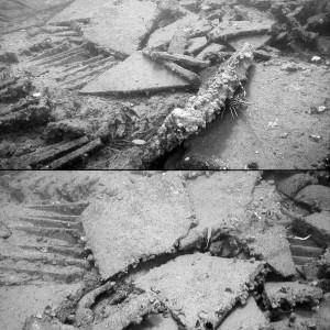 Images of the Boka Kotorska 1 wreck site. Courtesy RPMNF.