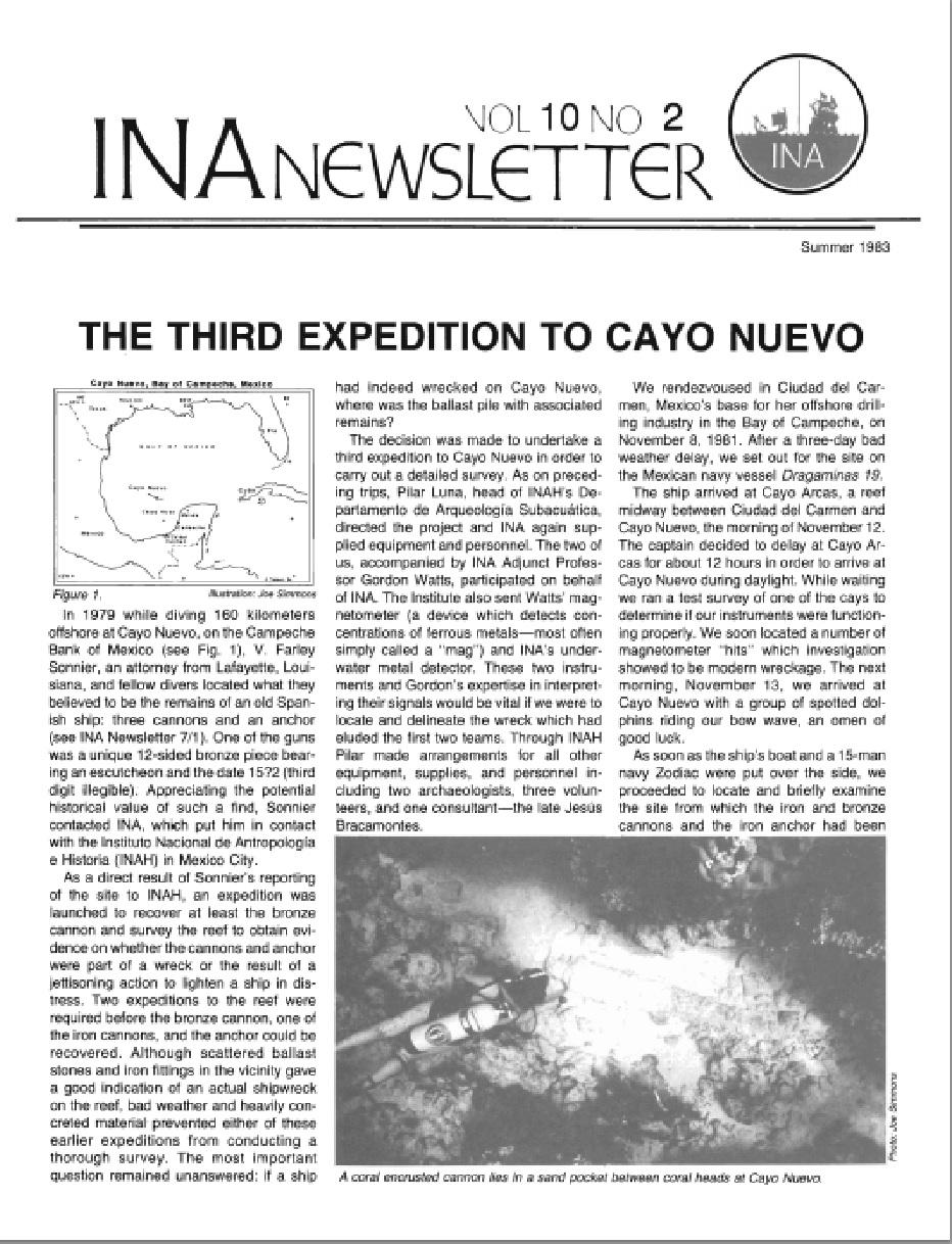 INA Quarterly 10.2 Summer 1983
