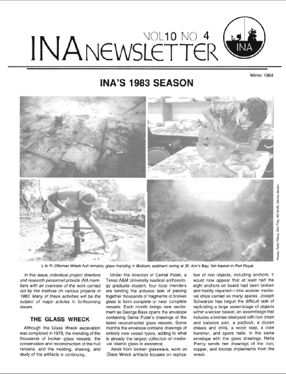 INA Quarterly 10.4 Winter 1983