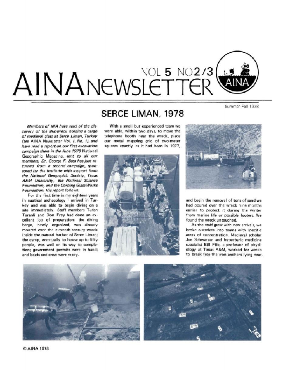 AINA Quarterly 5.2/3 Summer/Fall 1978