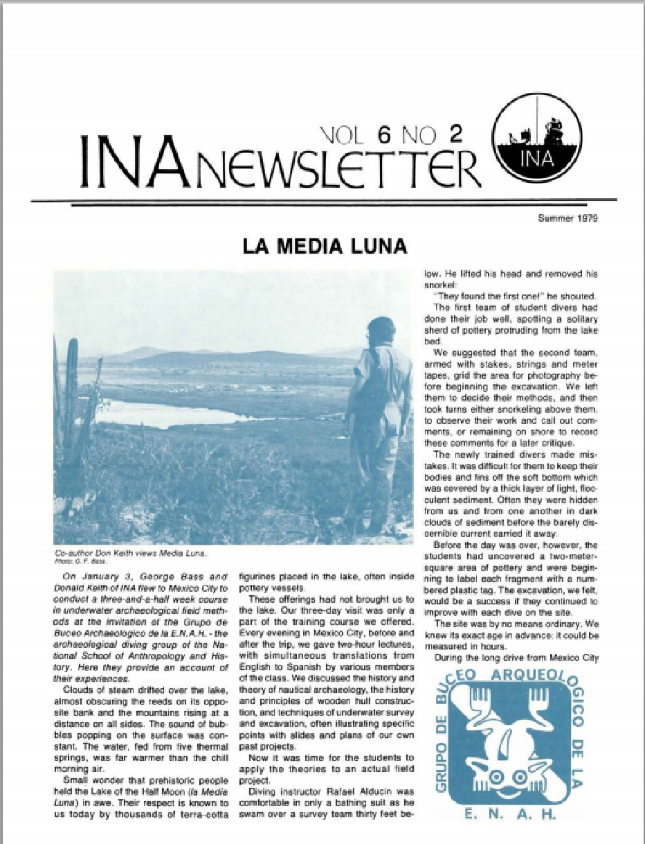 INA Quarterly 6.2 Summer 1979