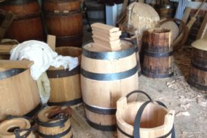 The Colonial Williamsburg Cooperage. (Photo: G. Tsai). REF6450