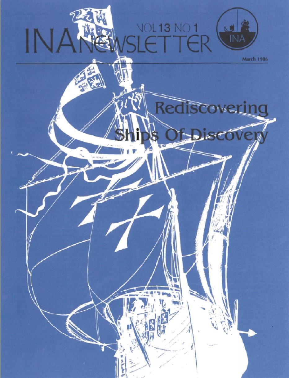 INA Quarterly 13.1 Spring 1986