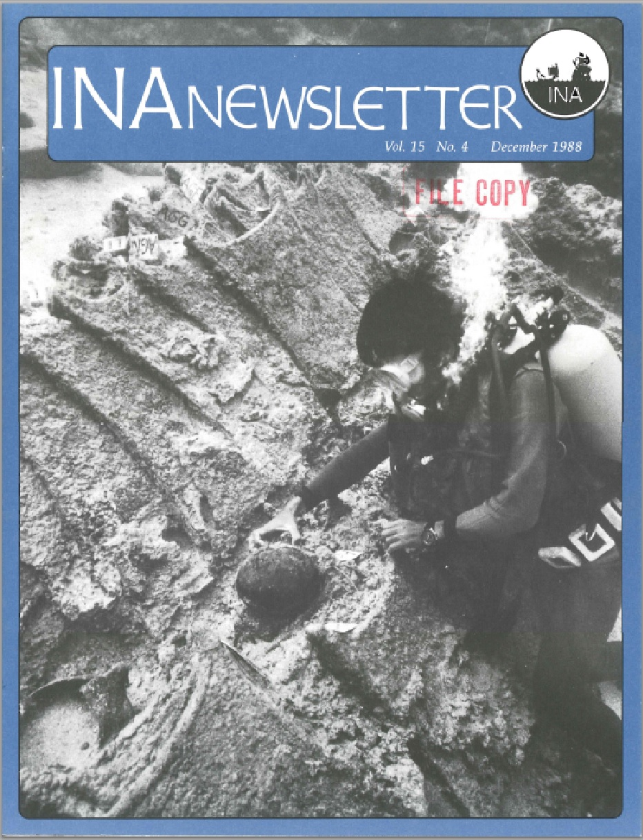 INA Quarterly 15.4 Winter 1988