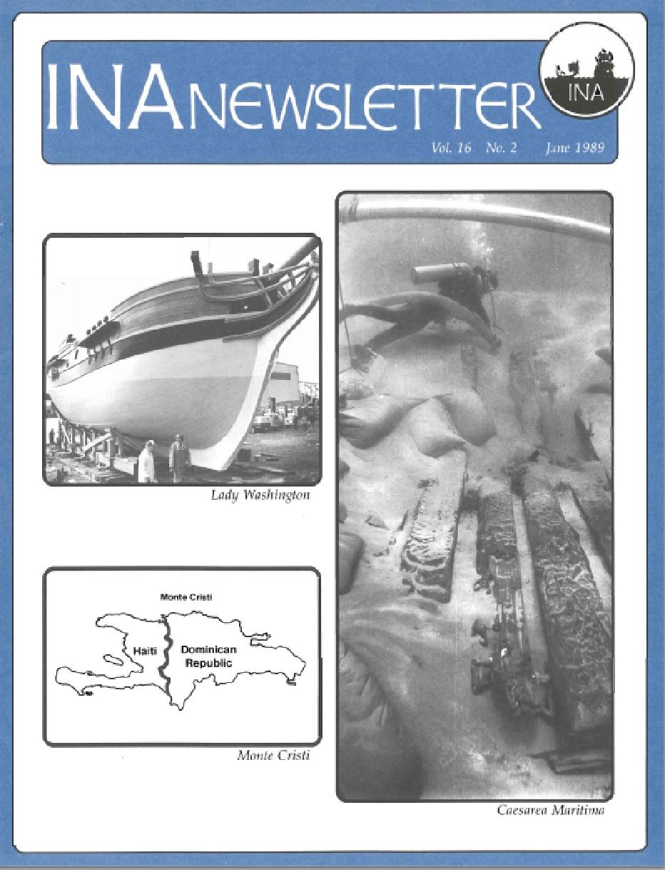 INA Quarterly 16.2 Summer 1989