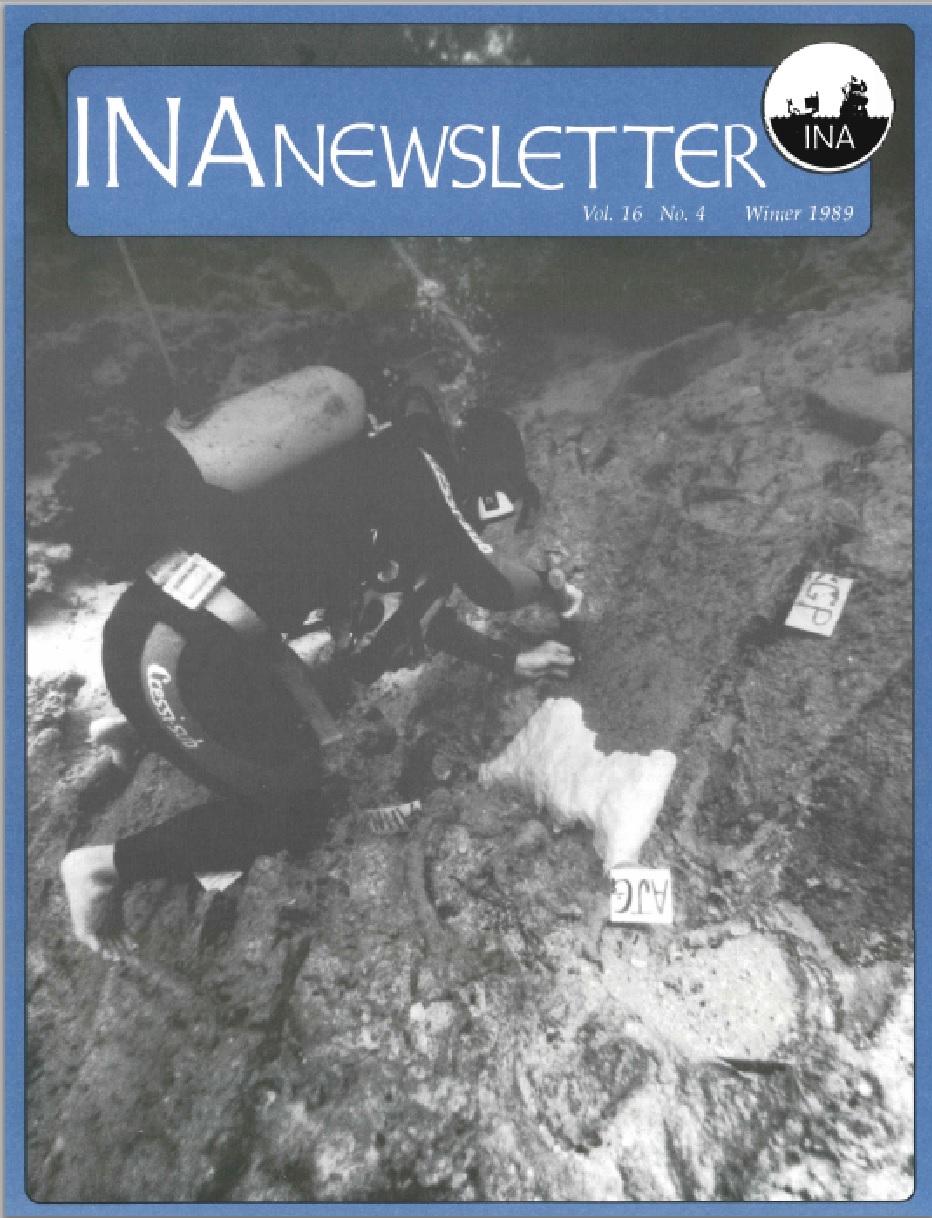 INA Quarterly 16.4 Winter 1989