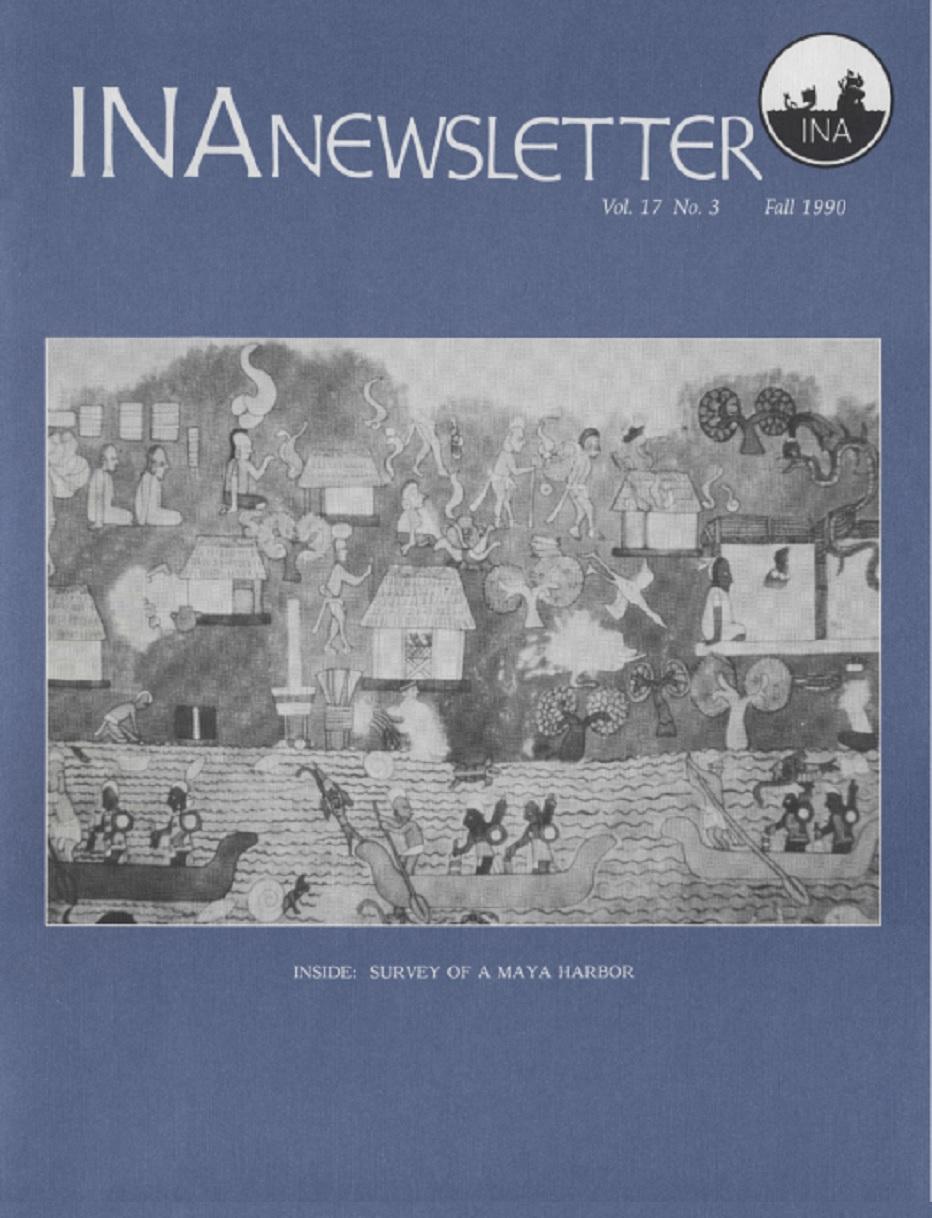 INA Quarterly 17.3 Fall 1990