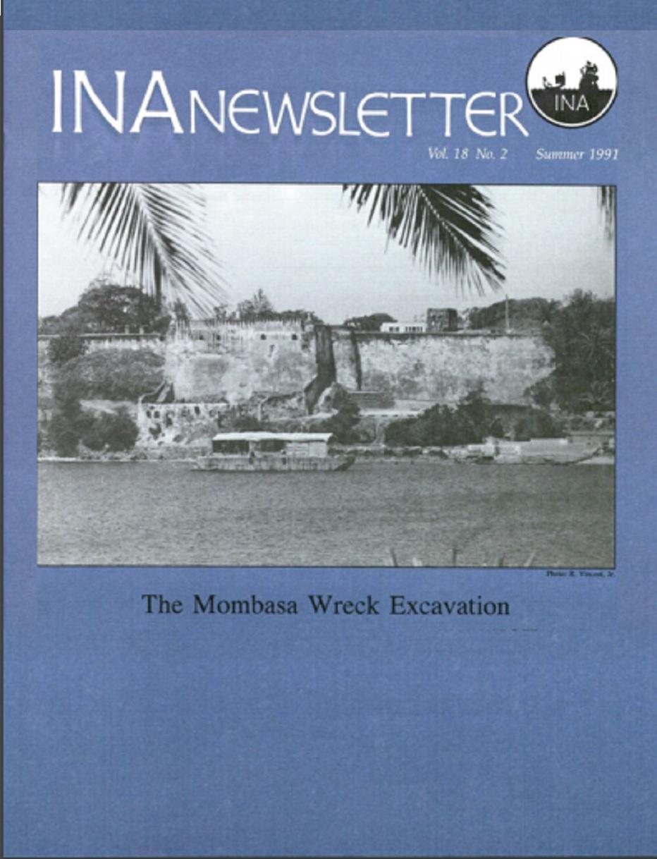 INA Quarterly 18.2 Summer 1991