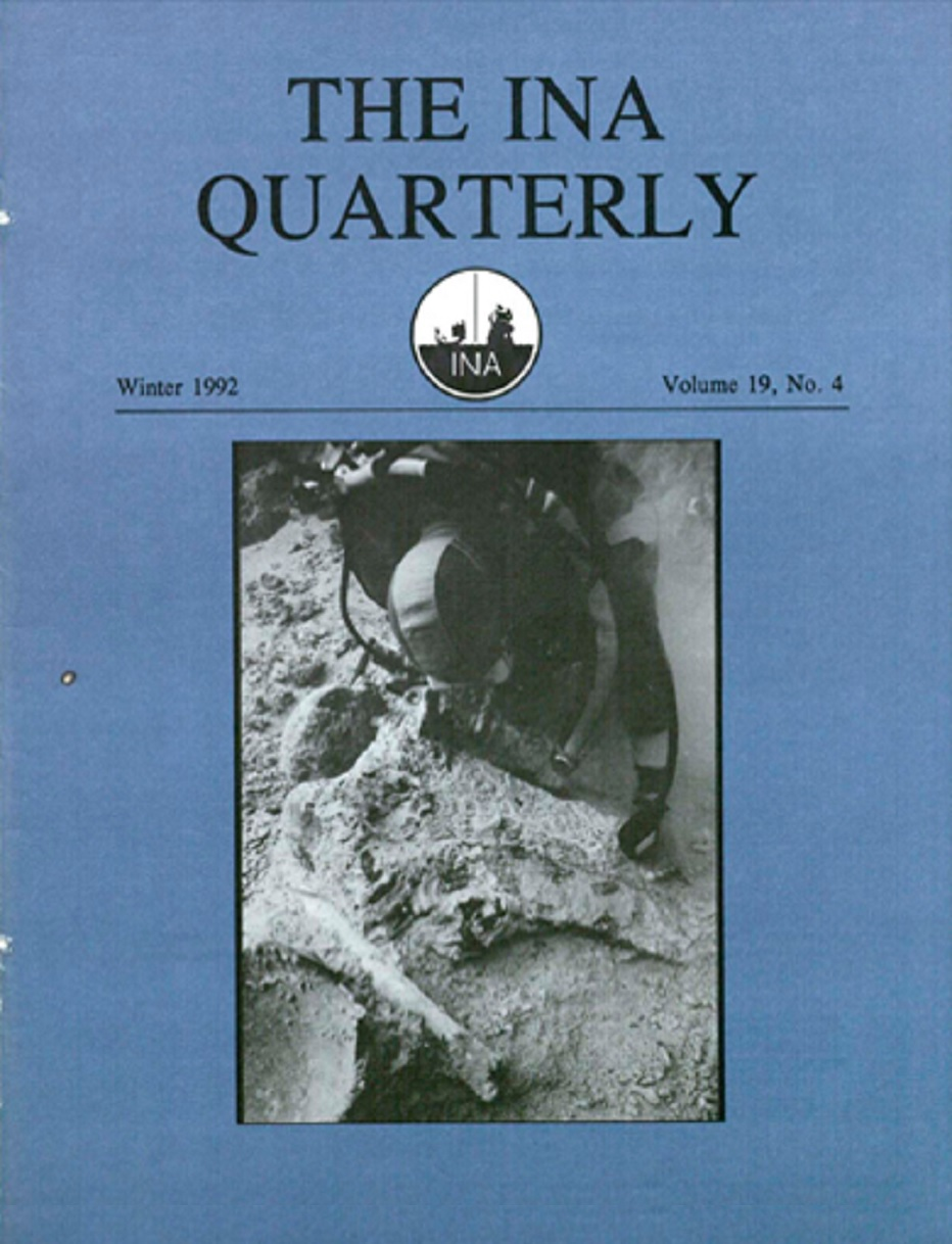 INA Quarterly 19.4 Winter 1992