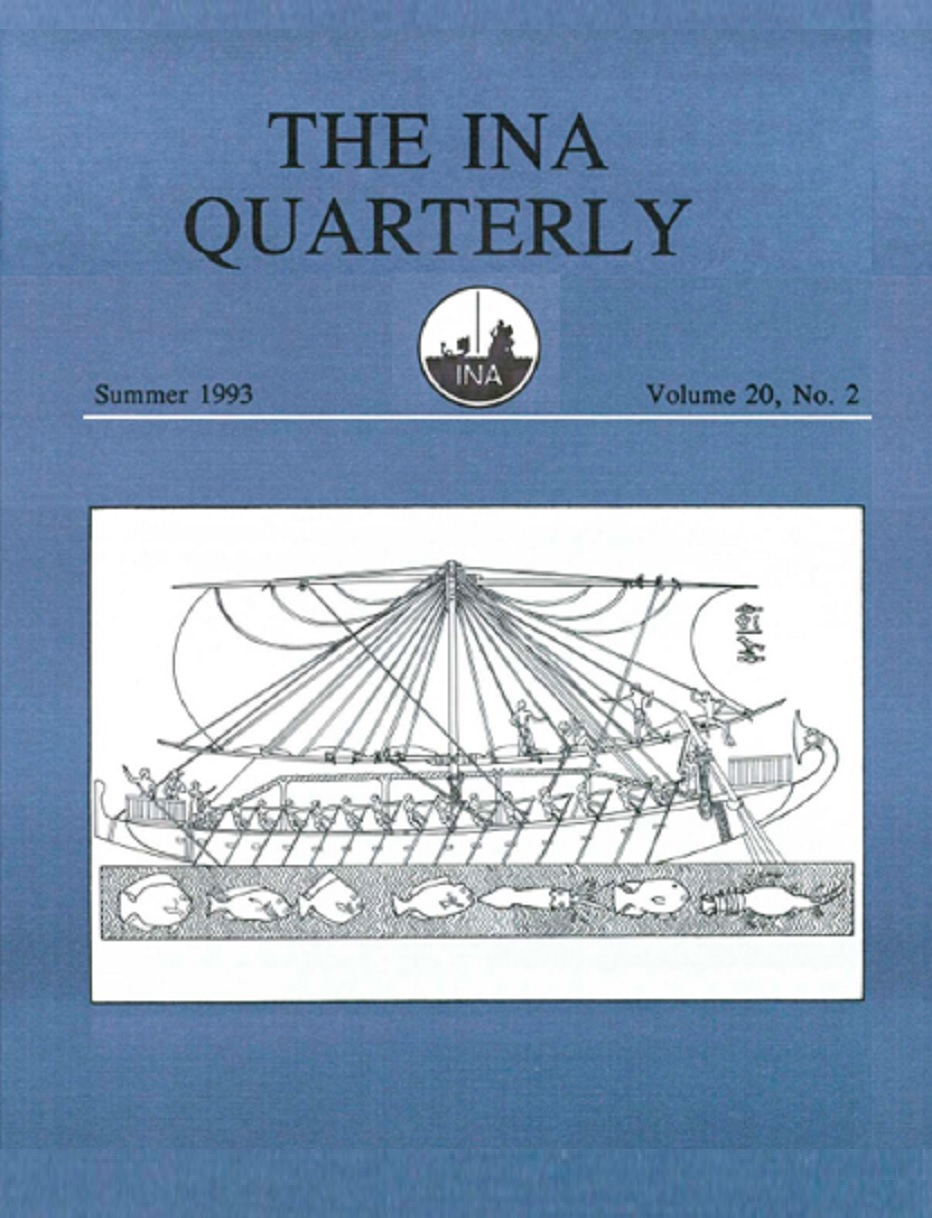 INA Quarterly 20.2 Summer 1993
