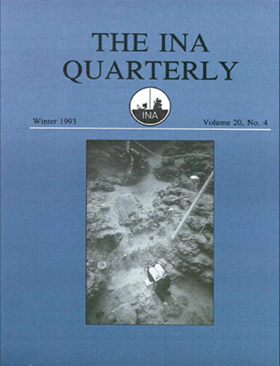 INA Quarterly 20.4 Winter 1993