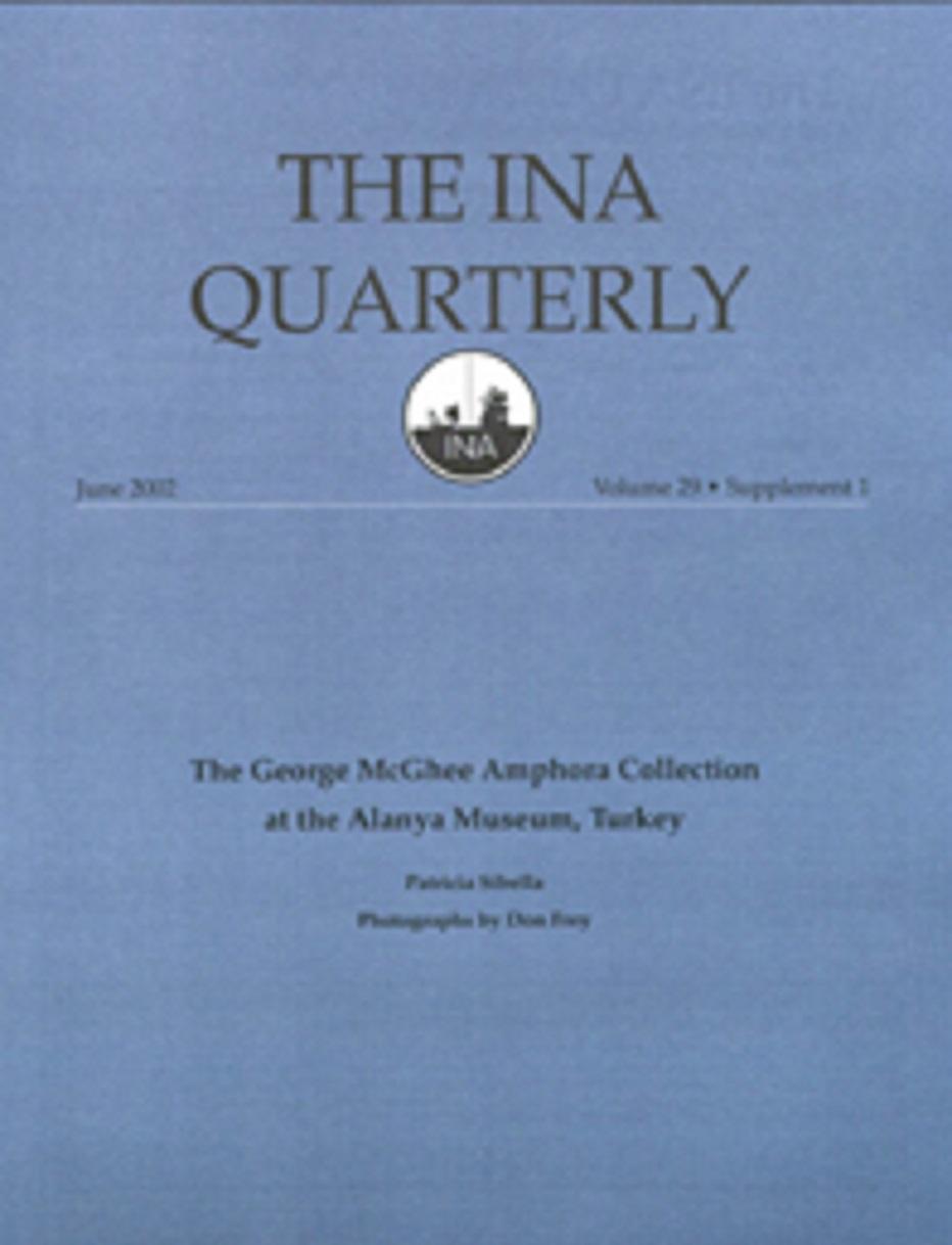 INA Quarterly 29 Supplemental 1 Summer 2002