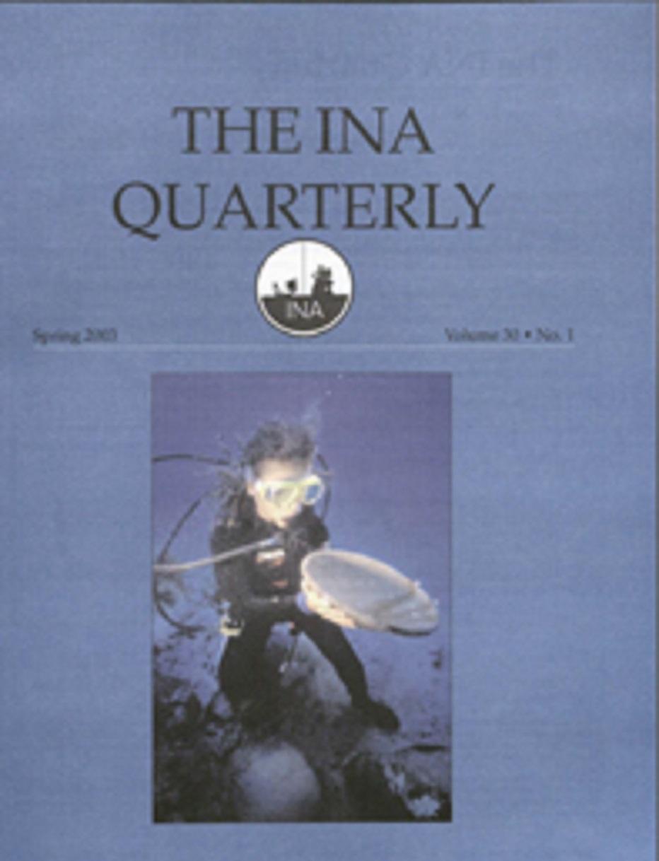 INA Quarterly 30.1 Spring 2003
