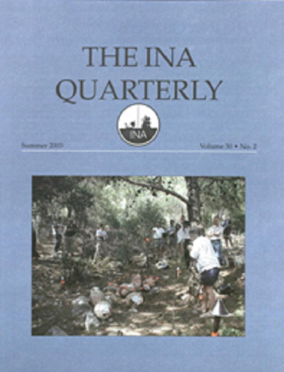 INA Quarterly 30.2 Summer 2003