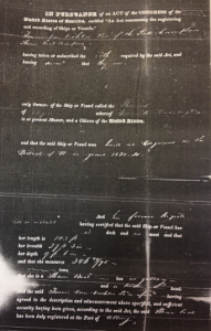 Fig. 4: The enrollment papers that reported the true size of Phoenix II.